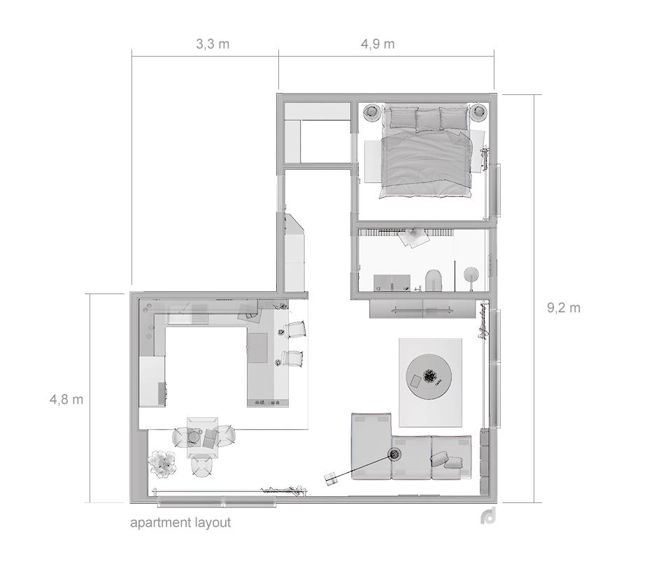 Apartment Layout Design Interior